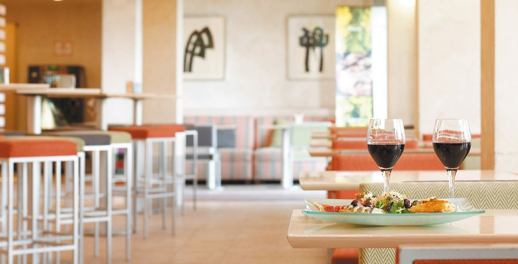 For a crisp glass of wine and some delicious tapas