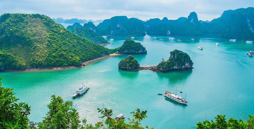 And the beauty of Ha Long Bay
