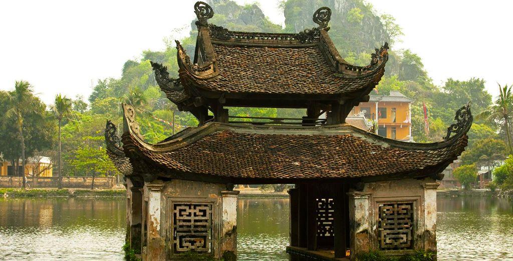 You will begin in Vietnam's Hanoi