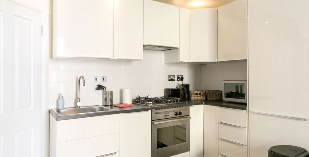 Apartment 1: With a well-equipped kitchen