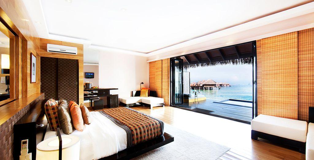 This is the Adaaran Vadoo Resort, a breathtaking 5* property on a stunning atoll - Adaaran Prestige Vadoo 5* Maldives