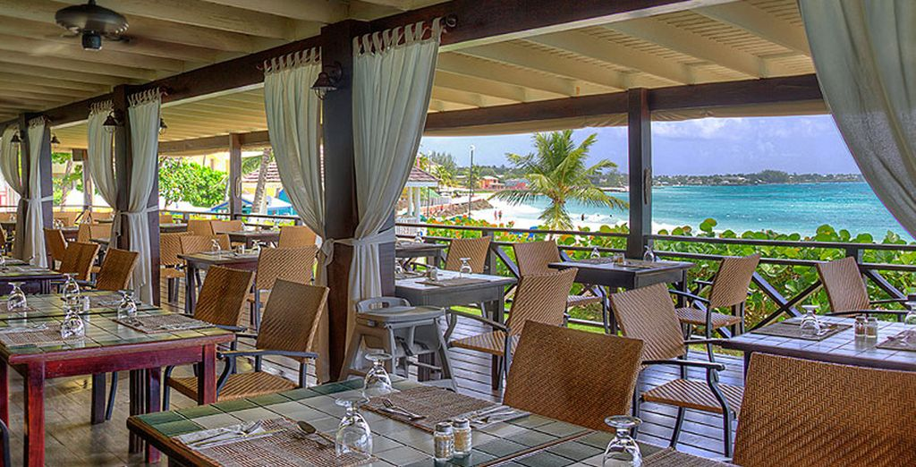 Dine in a variety of restaurants and get the most out of your all inclusive stay