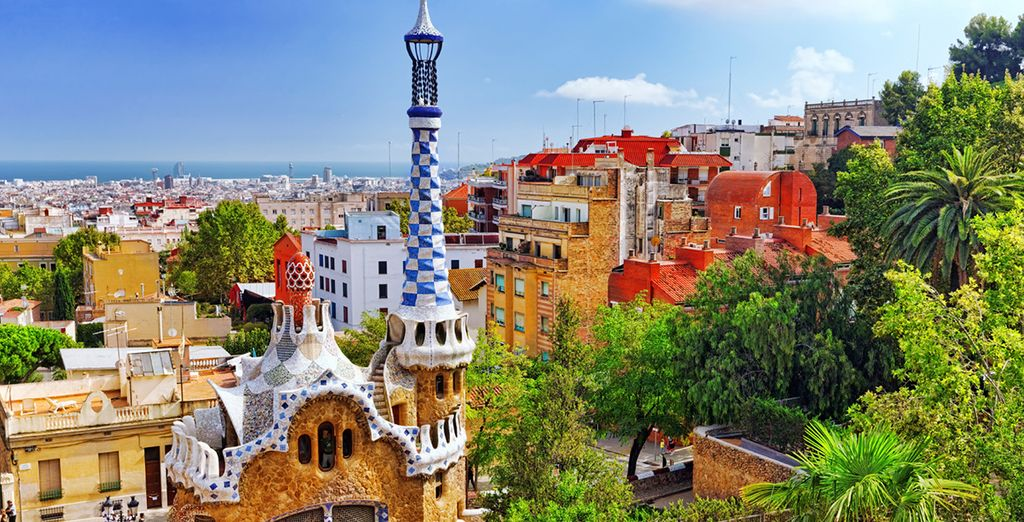 Explore the iconic Barcelona