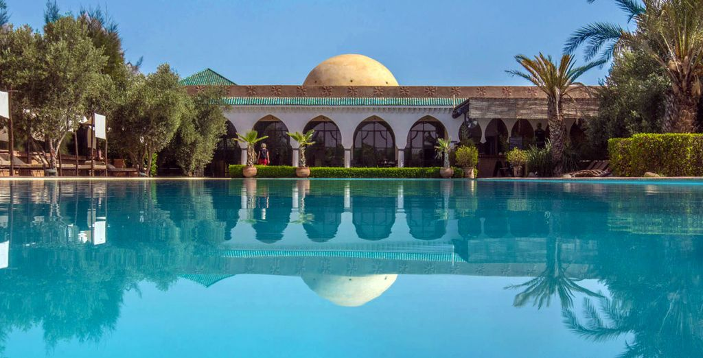 Enjoy a quiet stay away from the city in Marrakech
