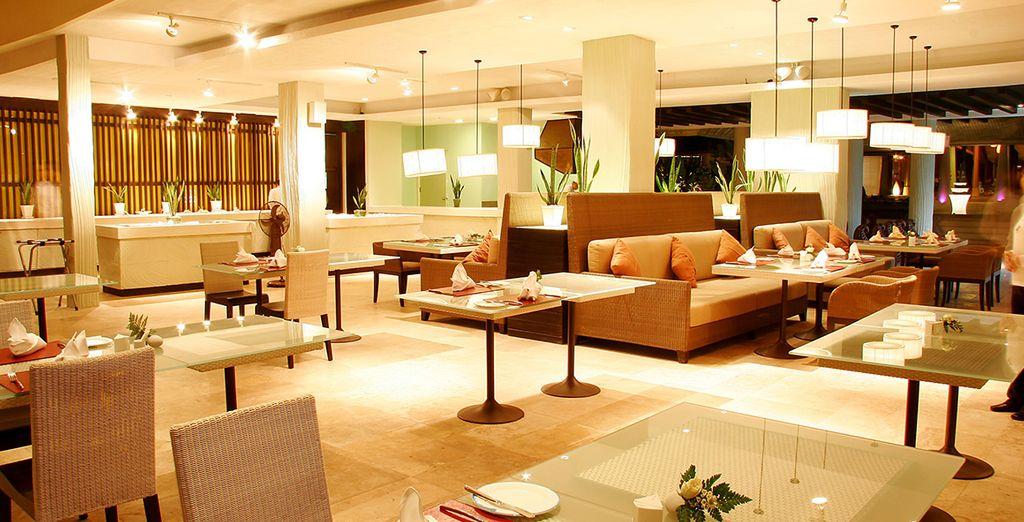 A modern, stylish hotel...