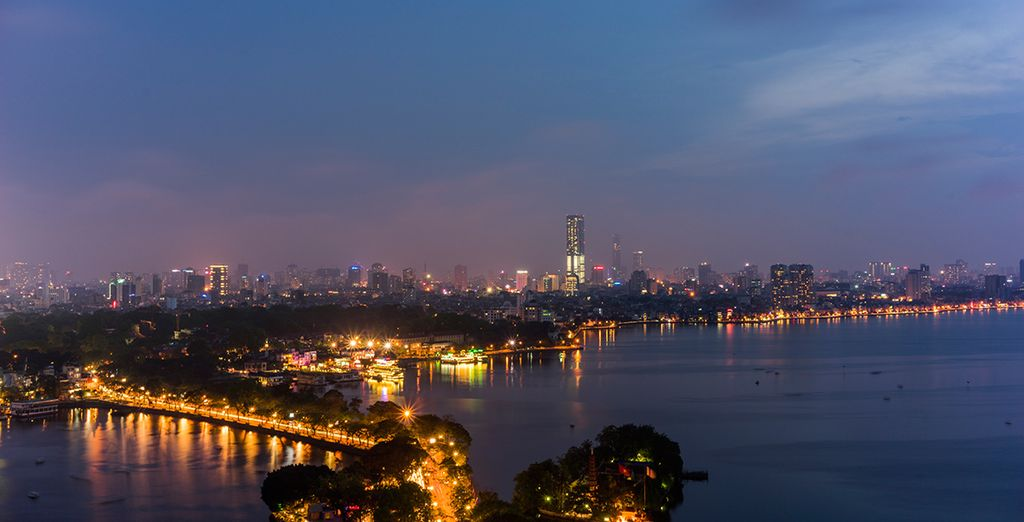 Start in the fascinating city of Hanoi