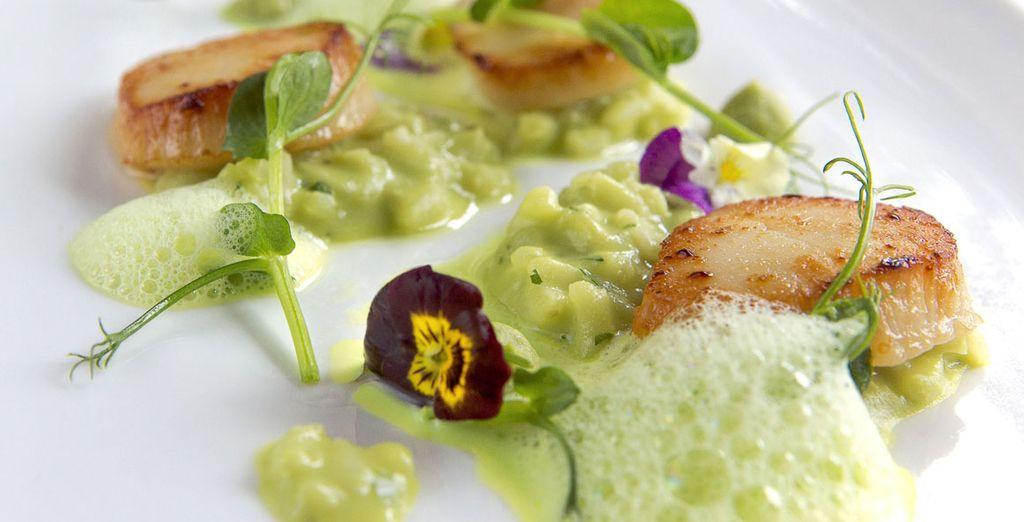 For amazing cuisine...