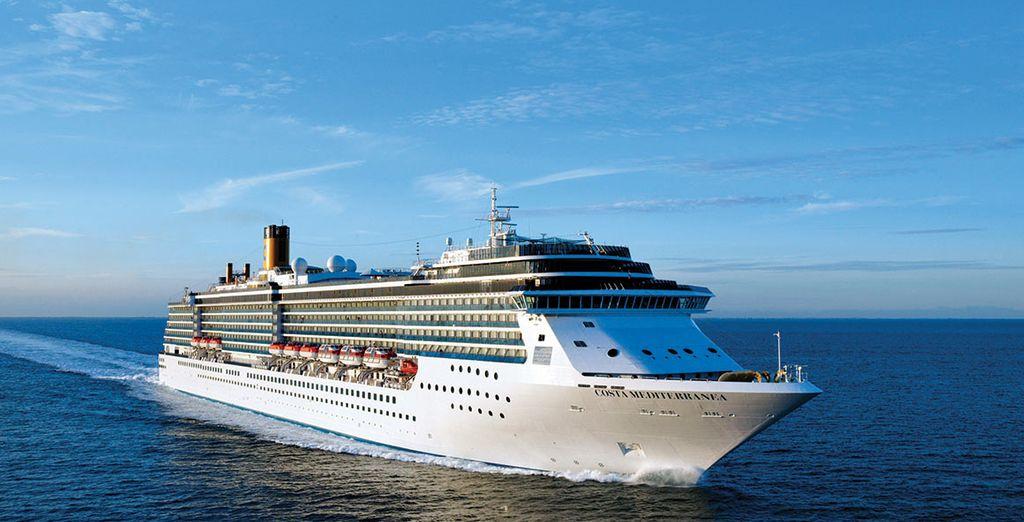 All aboard the Costa Mediterranea!
