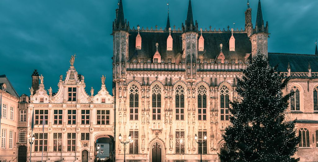 Head out into the charmingly historic city of Bruges