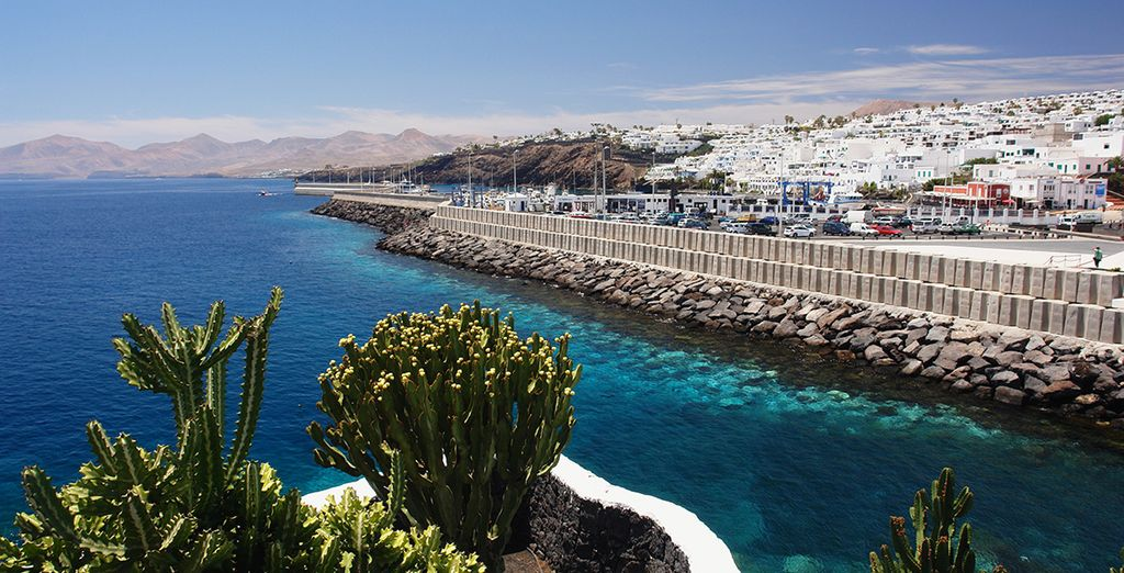 In Lanzarote's Playa del Carmen