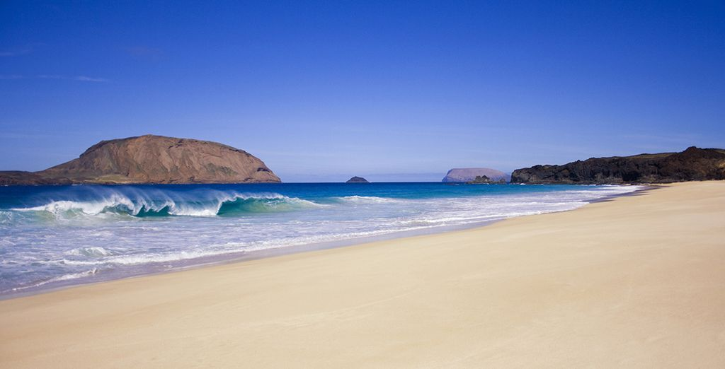 This beach location is perfect to enjoy the year round sunshine