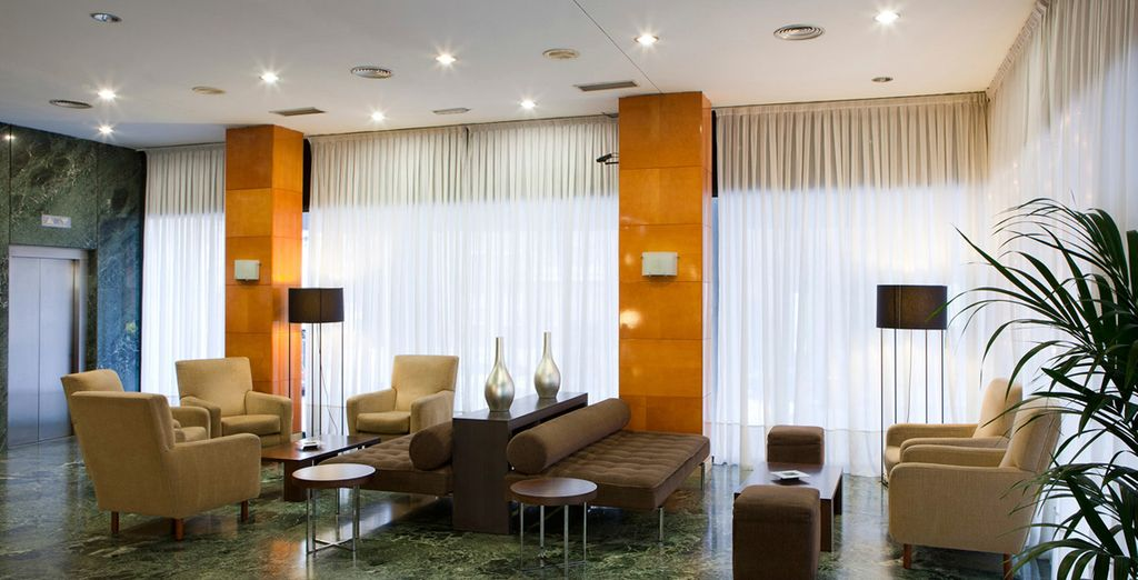 Stay at the contemporary NH Madrid Ventas
