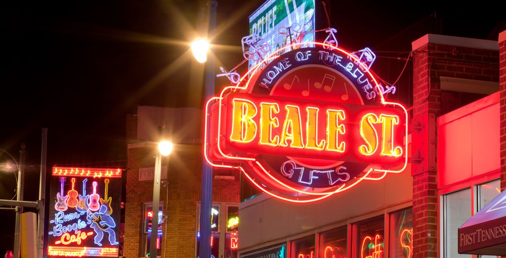 But first you will spend 3 heady nights in the vibrant city of Memphis