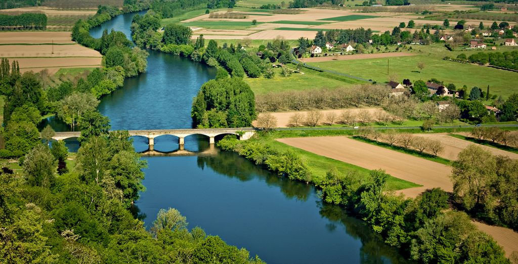 In the leafy Dordogne Valley