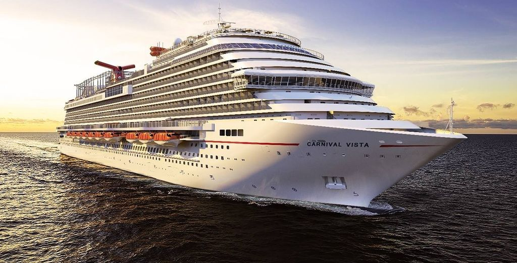 Set sail on the brand new Carnival Vista!