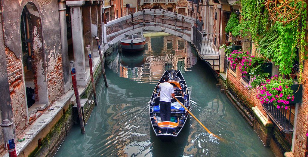 Explore the city's unique waterways via water taxi