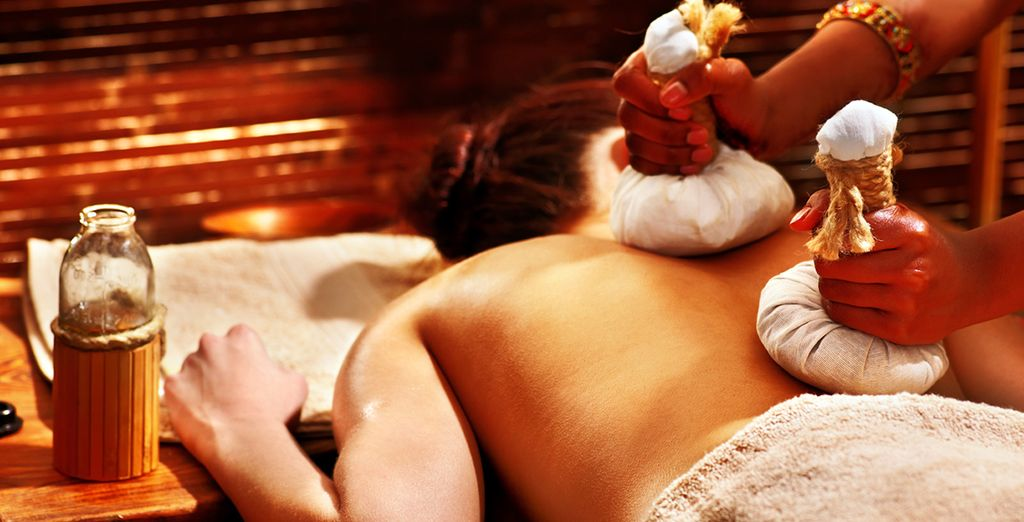 Indulge in some superb spa treatments