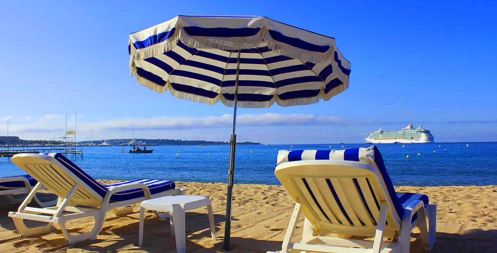 ... but is only a short drive from the Croisette of Cannes or the delights of Nice