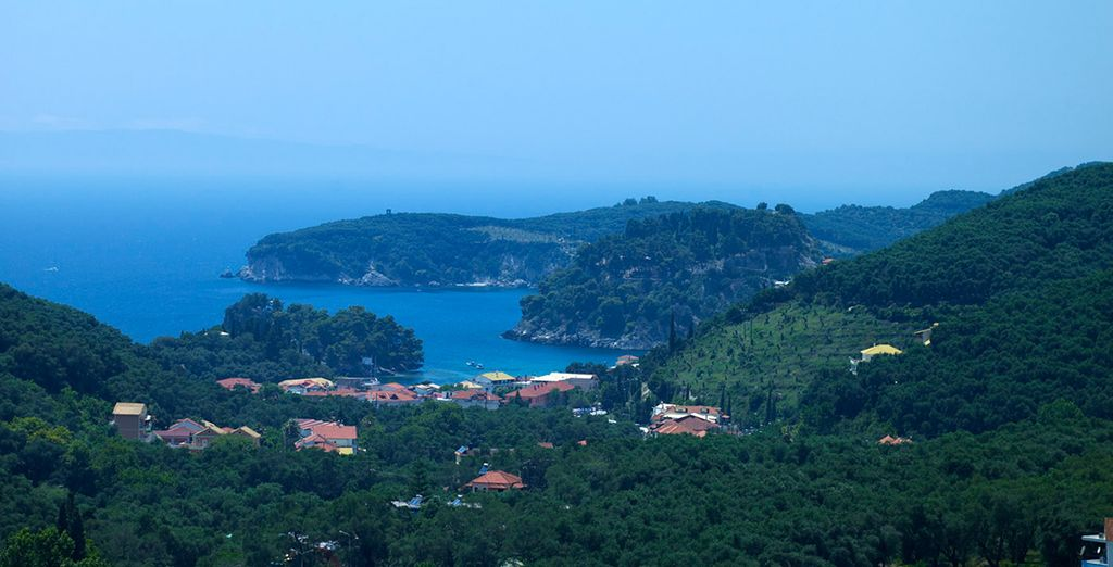 Over Parga and Lichnos Bay