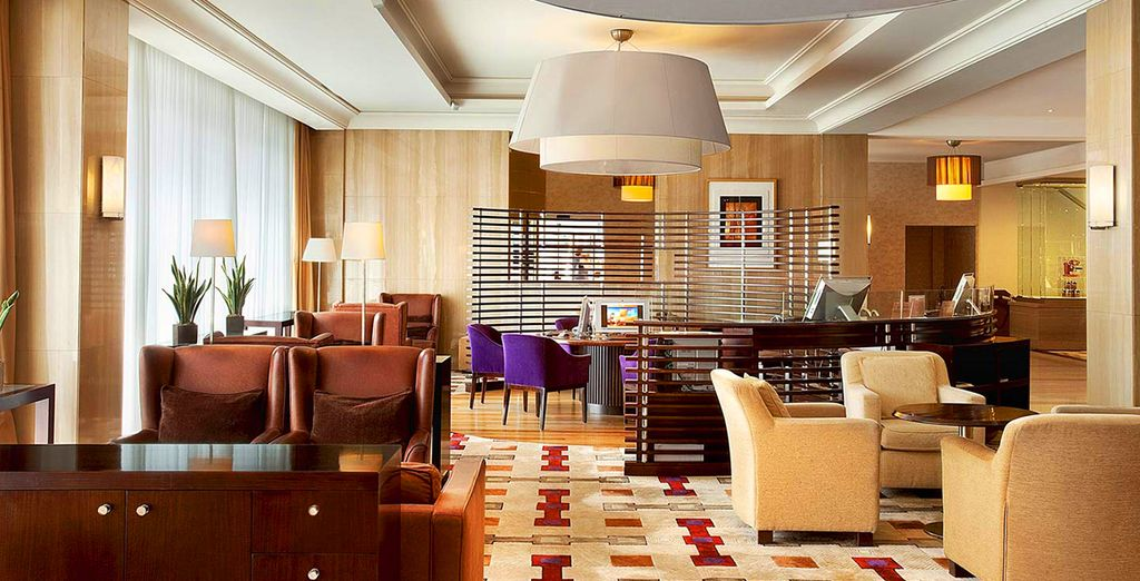 Treat yourself to a stay at the chic Sheraton Brussels