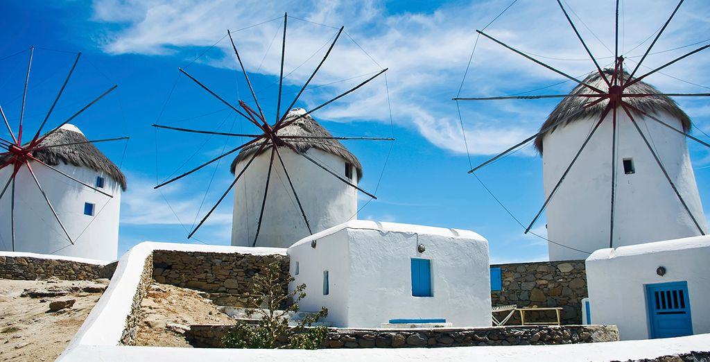 Head out and discover the charm of Mykonos