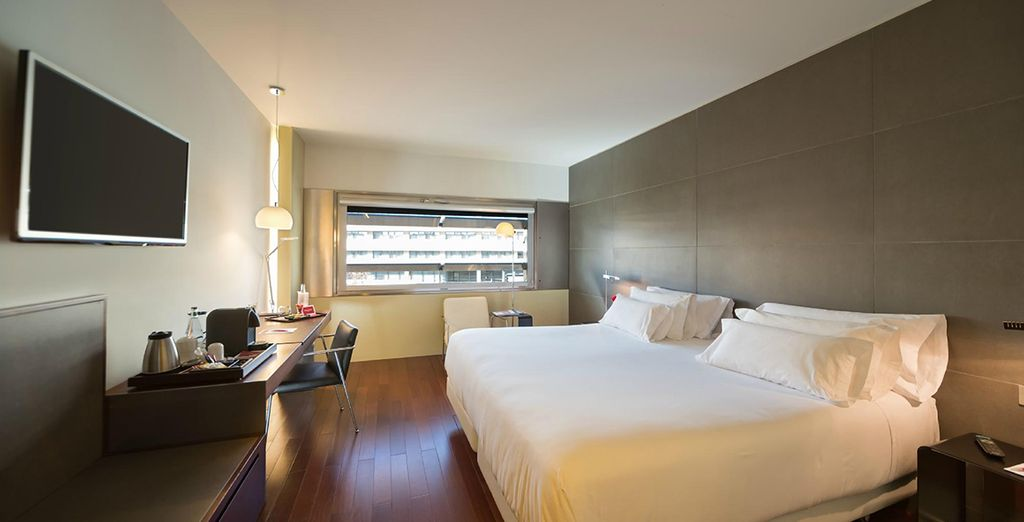 Sleep in a modern Premium Room