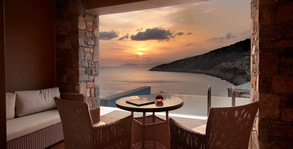 And soak up the views as you sip a refreshing drink...