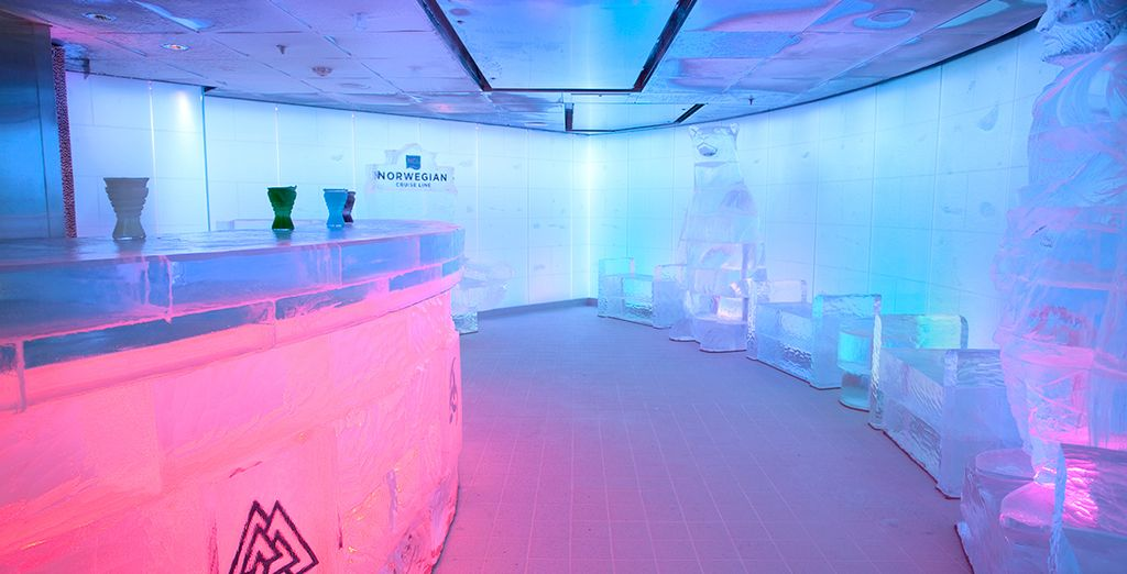 Including an ultra-cool ice bar!