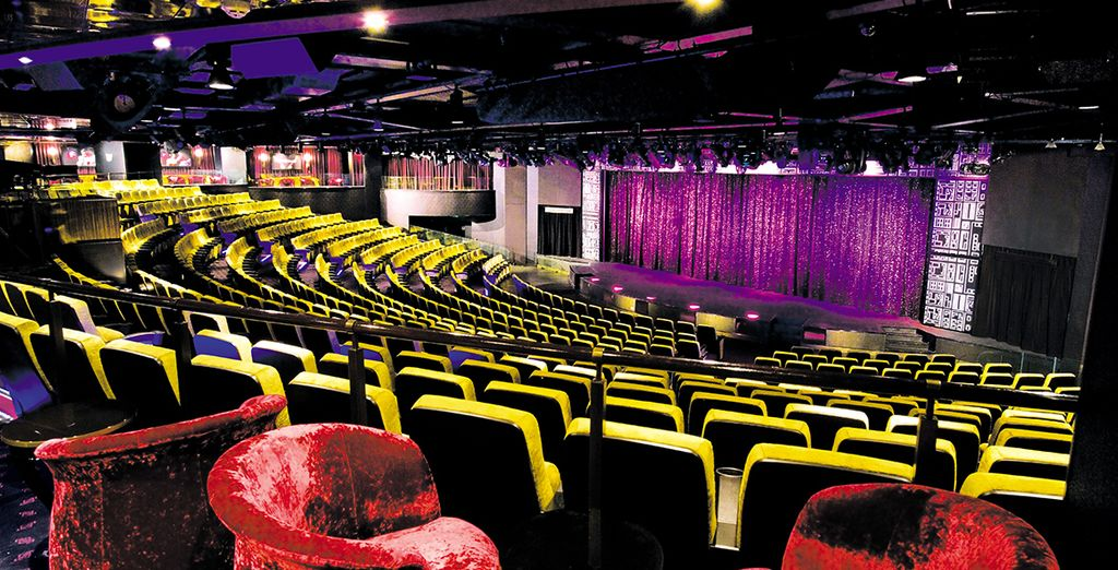 Or watch an exciting theatre show - there is so much to keep you entertained!