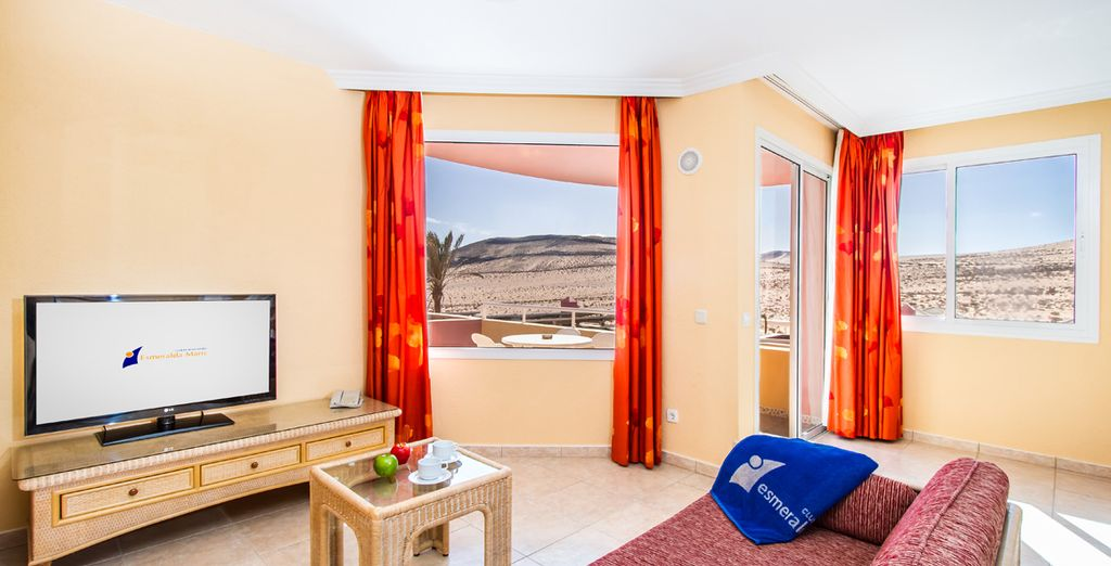 These comfortable spaces offer a great location from which to explore Fuerteventura