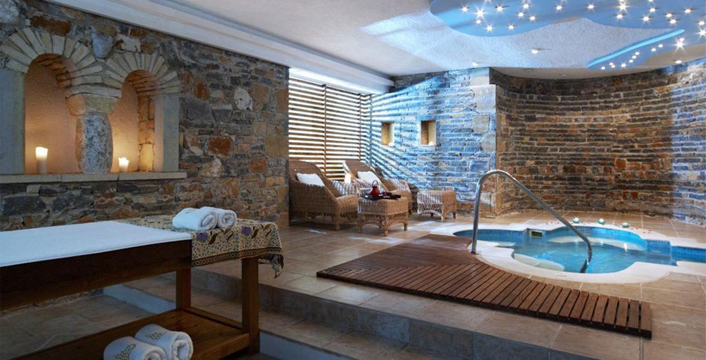 Facilities include a luxury spa