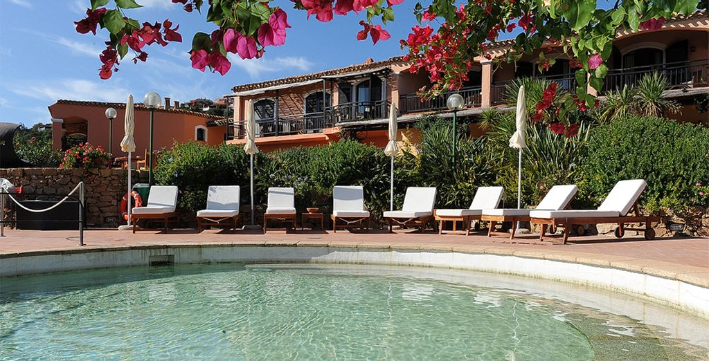 And experience a tranquil Mediterranean retreat