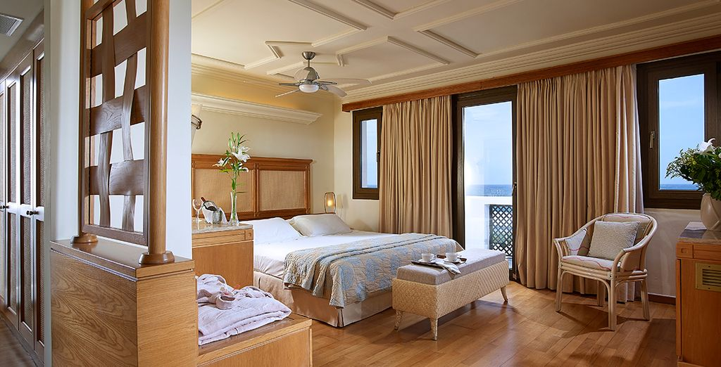 Stay in a sumptuous Junior Suite