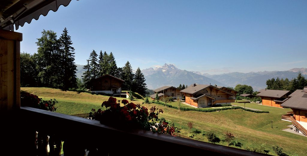 In Villars-sur-Ollon, where natural beauty takes centre stage