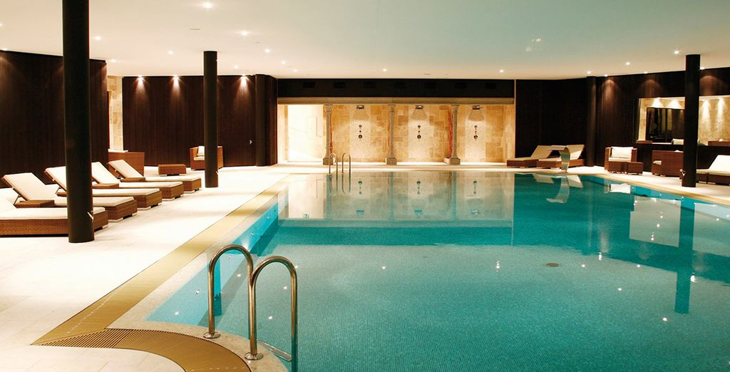 Head to the award-winning spa