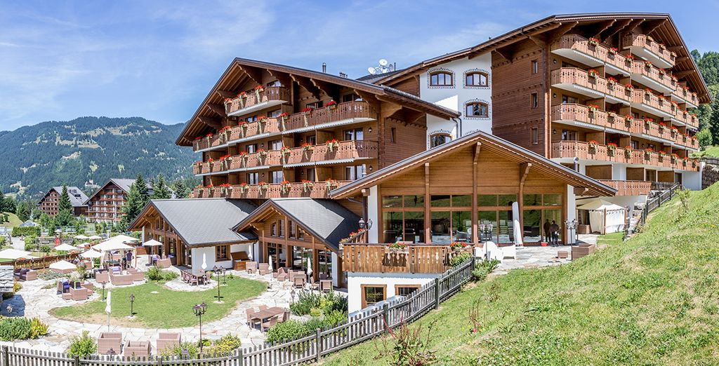 An award-winning spa resort in the Swiss Alps - Chalet RoyAlp Hôtel & Spa 5* Villars