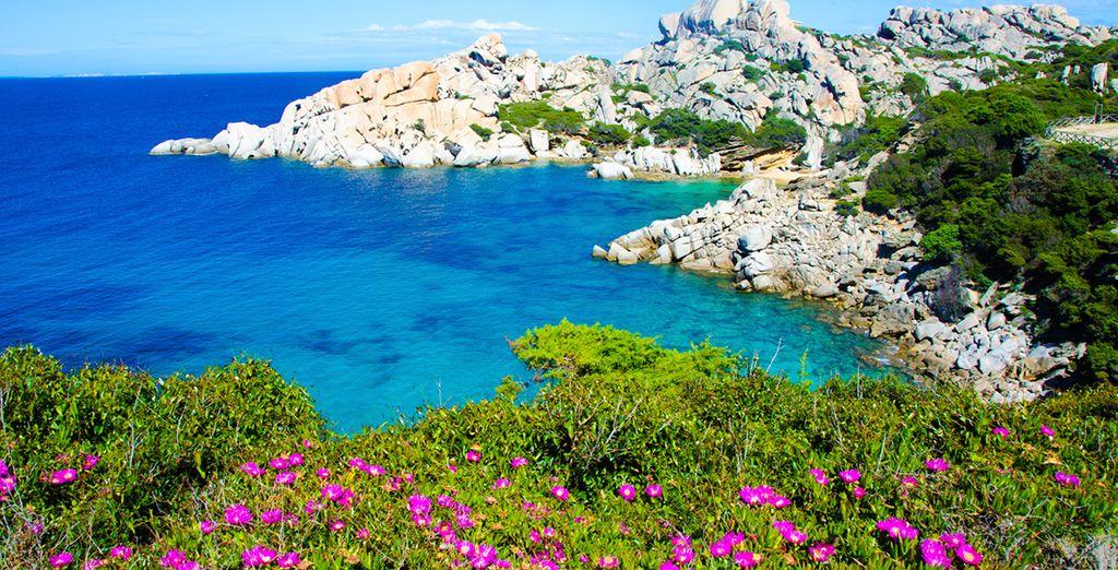 On the stunning island of Sardinia