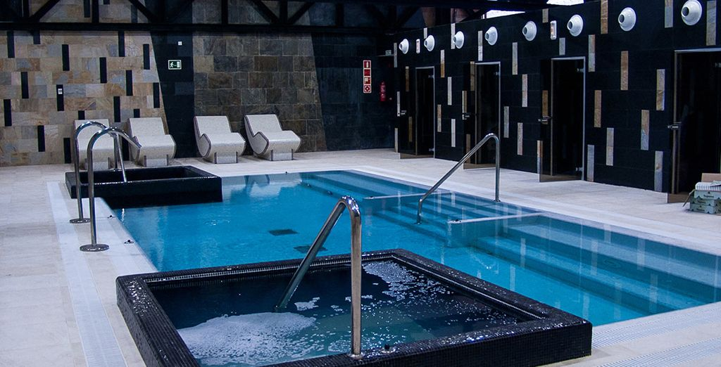 Unwind in the sensual spa pool