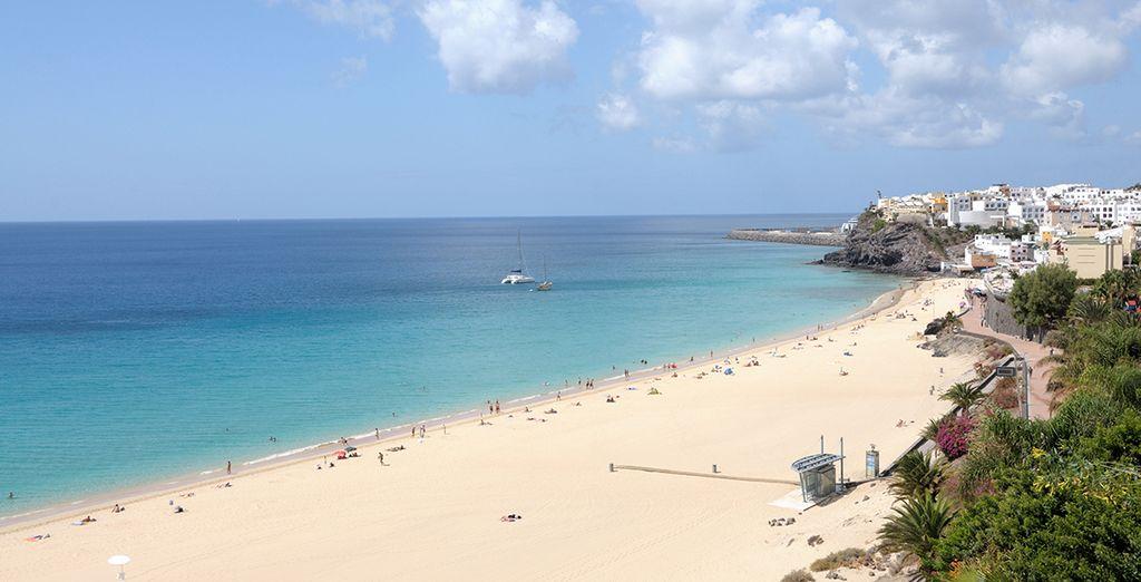 Home to glorious golden beaches