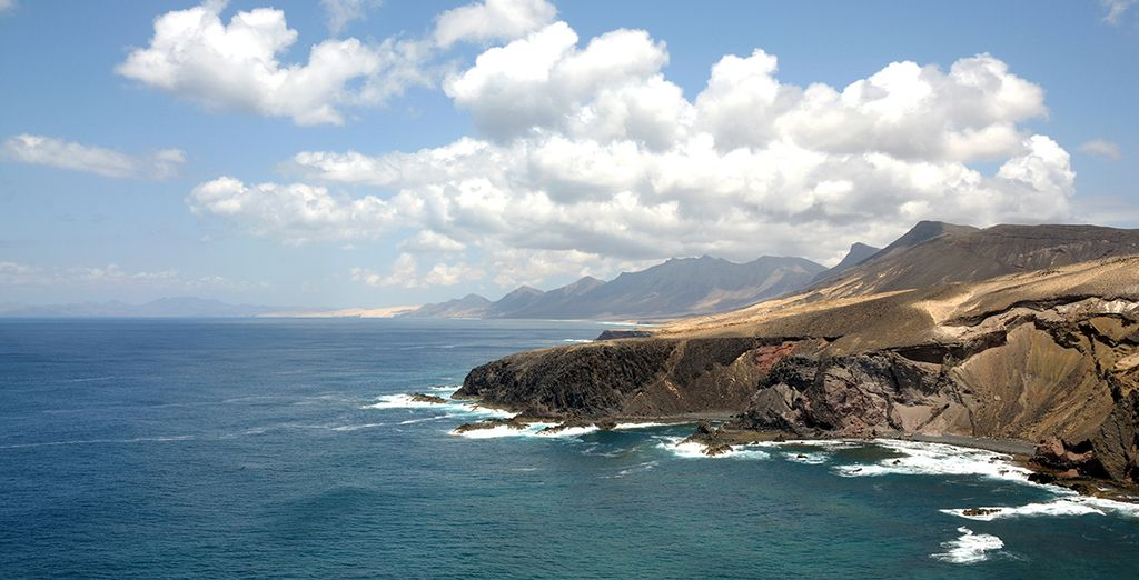 On the Canary island of Fuerteventura