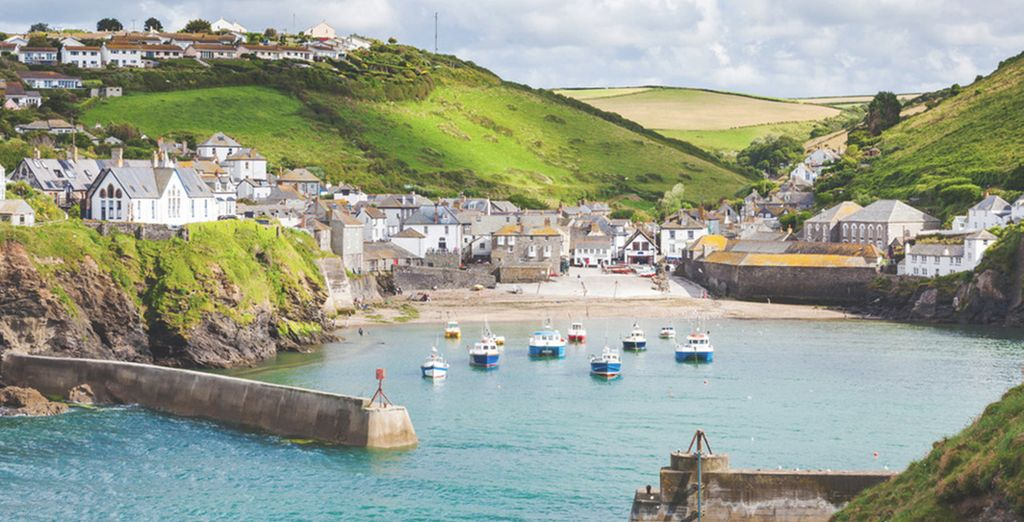 Or head to pretty Port Isaac, just 15 minutes drive away
