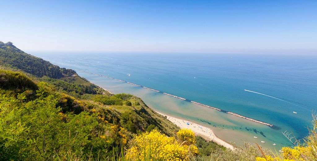 And striking coastline