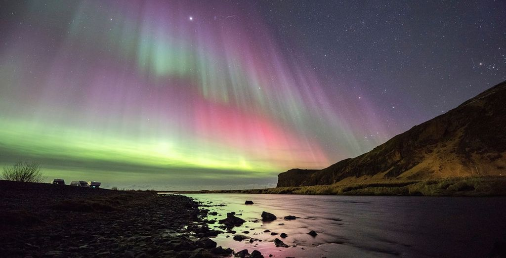 Which includes a Northern Lights hunt