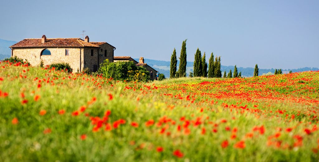 Nestled amongst the rolling Tuscan hills