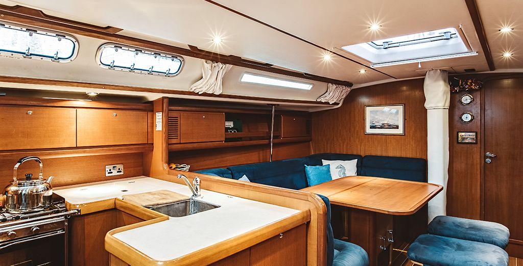 A wonderful yacht experience awaits