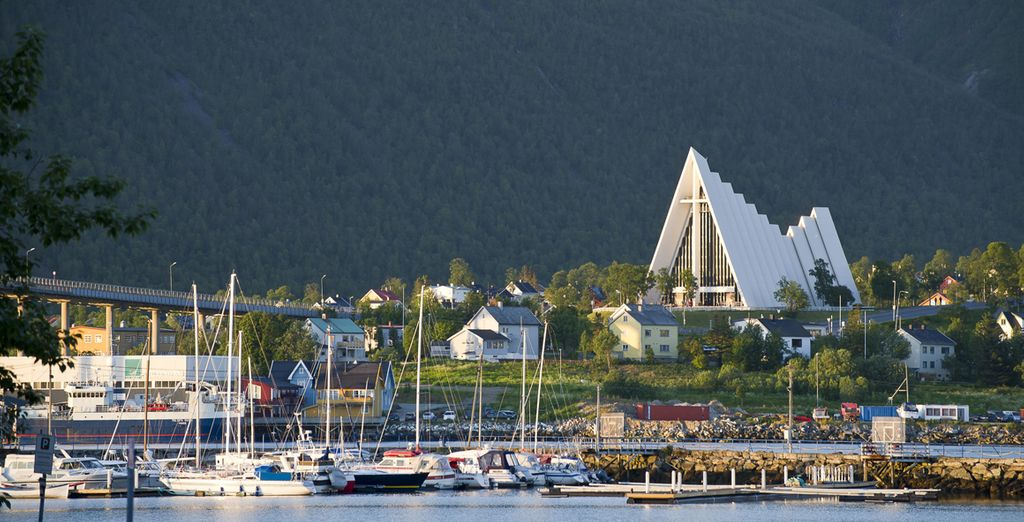 Witness the inspiring architecture of the Arctic Cathedral