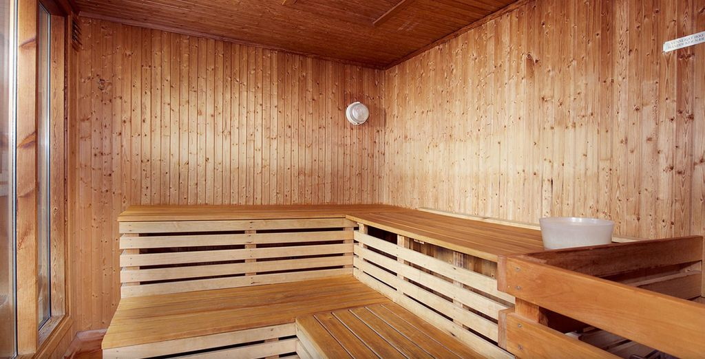 Warm up at the end of a day exploring, in the hotel's sauna
