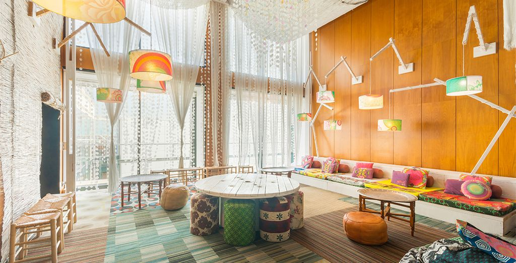 Home to characterful lounges in which to unwind