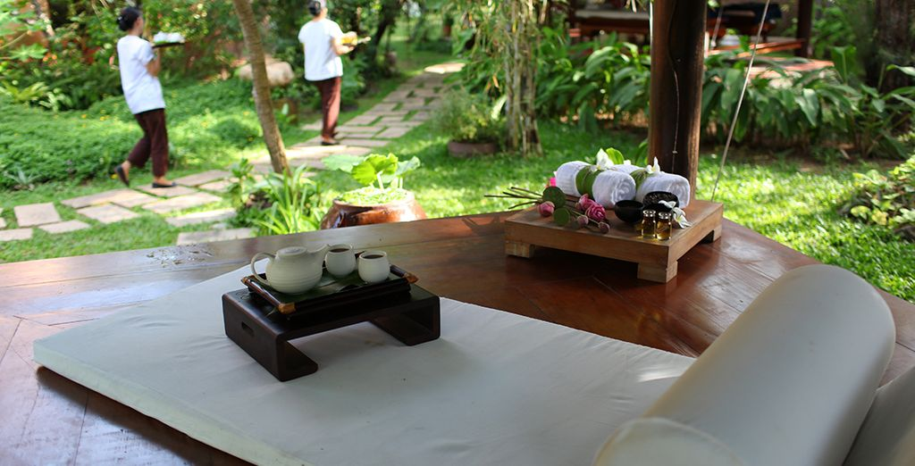 Where you can pamper yourself in the spa