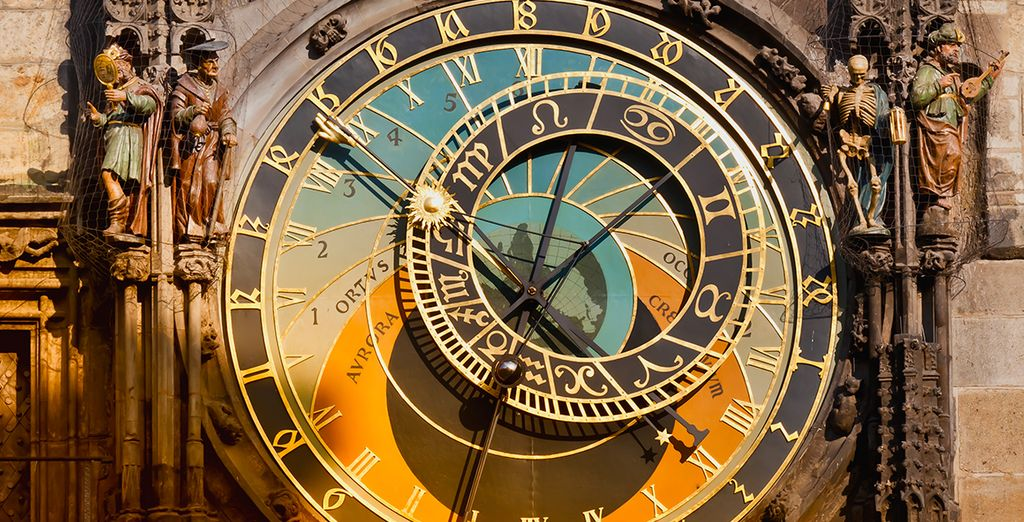Famed for its astronomical clock....
